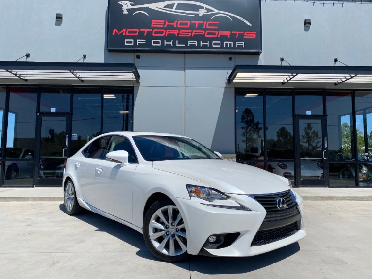 Used 2015 Lexus IS 250 for sale $17,995 at Exotic Motorsports of Oklahoma in Edmond OK