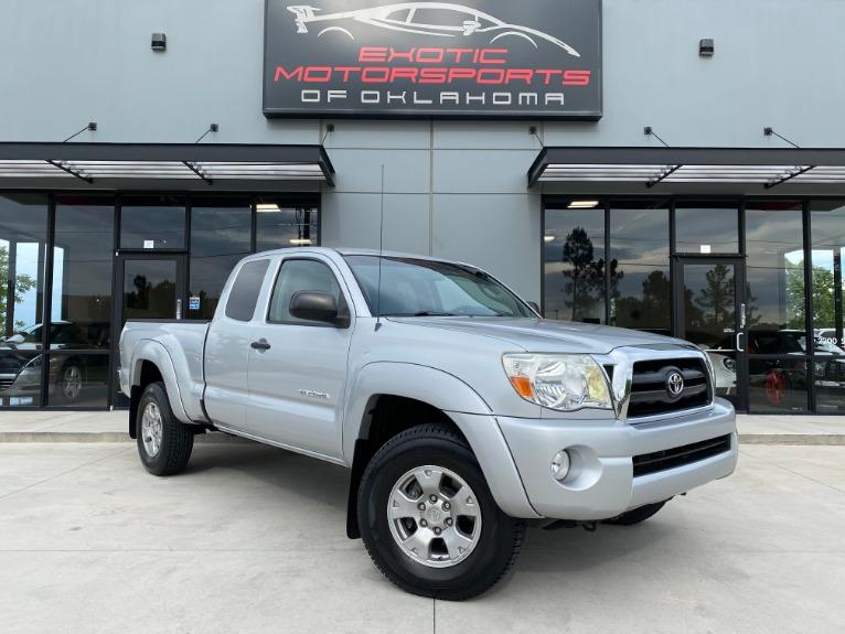 Used 2006 Toyota Tacoma Base for sale $17,500 at Exotic Motorsports of Oklahoma in Edmond OK