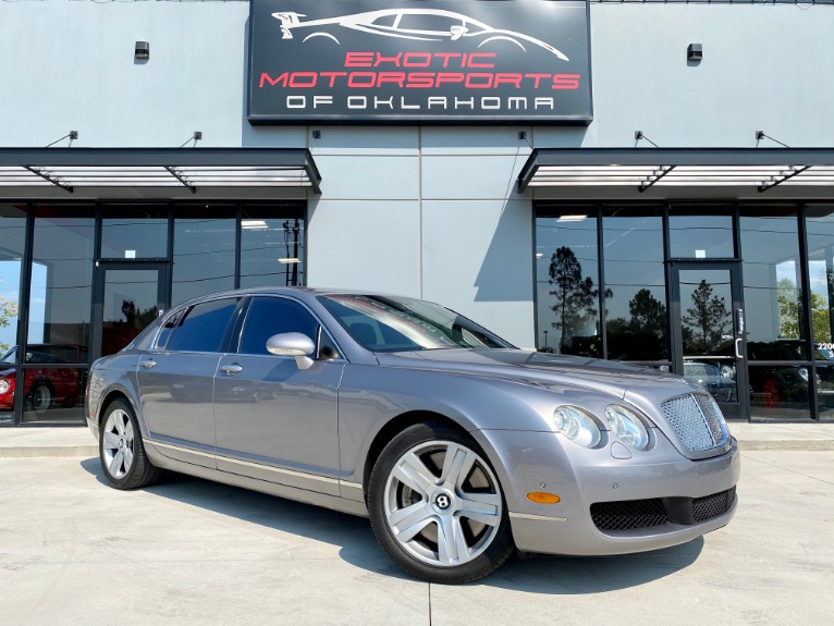 Used 2007 Bentley Continental Flying Spur Base for sale $32,995 at Exotic Motorsports of Oklahoma in Edmond OK