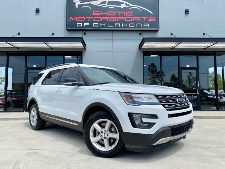 Used 2016 Ford Explorer XLT for sale $20,995 at Exotic Motorsports of Oklahoma in Edmond OK
