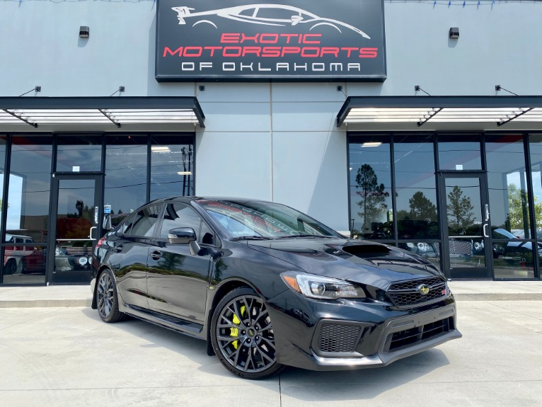 Used 2018 Subaru WRX STi Limited for sale $32,636 at Exotic Motorsports of Oklahoma in Edmond OK