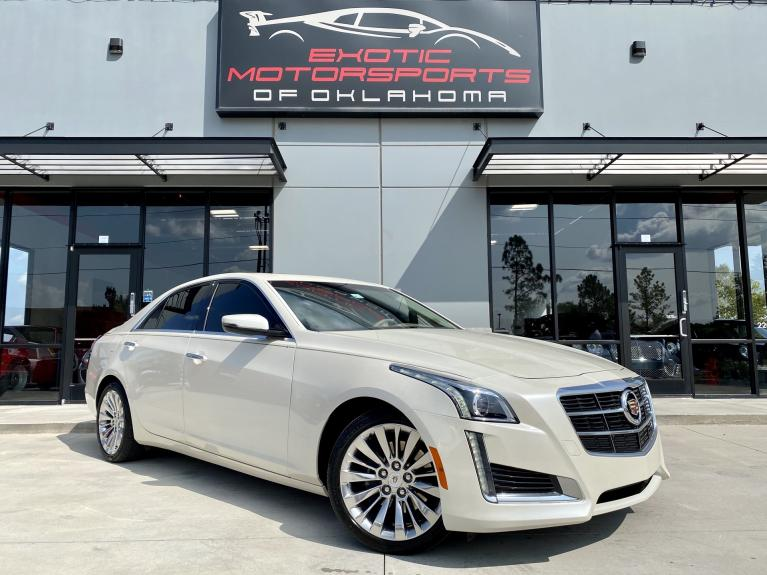 Used 2014 Cadillac CTS 2.0L Turbo Luxury for sale $21,495 at Exotic Motorsports of Oklahoma in Edmond OK