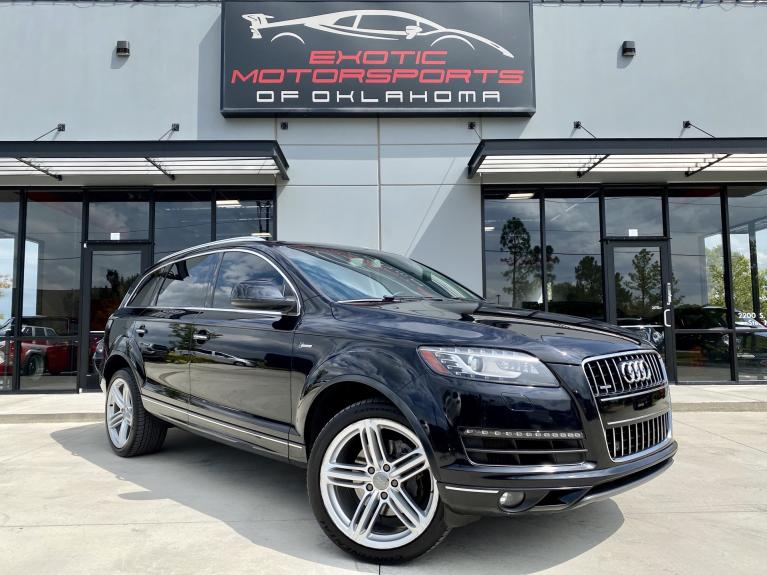 Used 2015 Audi Q7 3.0T Premium for sale $22,495 at Exotic Motorsports of Oklahoma in Edmond OK