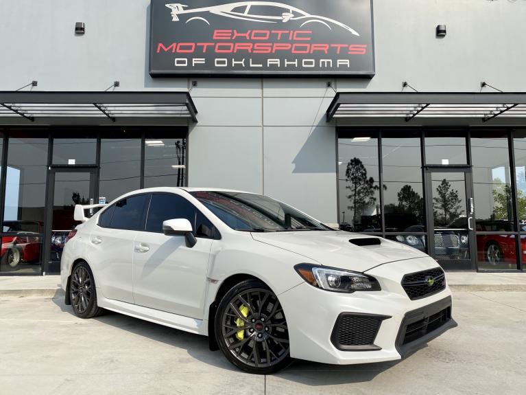 Used 2018 Subaru WRX STi Limited for sale $31,995 at Exotic Motorsports of Oklahoma in Edmond OK