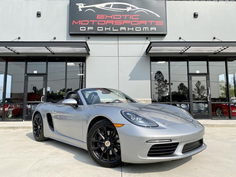 Used 2017 Porsche 718 Boxster Base for sale $49,995 at Exotic Motorsports of Oklahoma in Edmond OK
