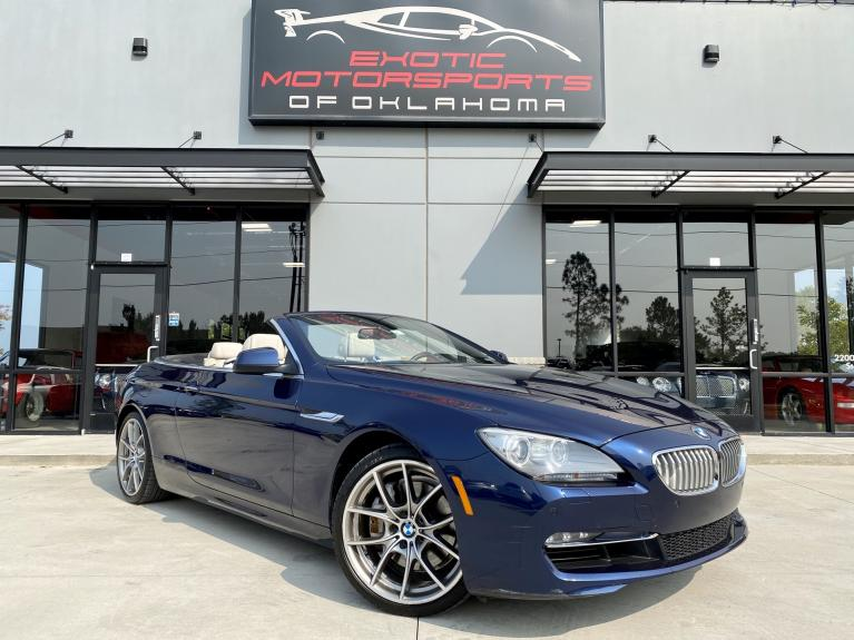 Used 2012 BMW 6 Series 650i for sale $24,495 at Exotic Motorsports of Oklahoma in Edmond OK