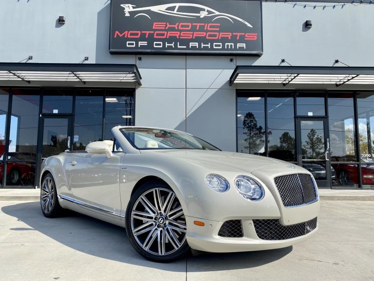 Used 2014 Bentley Continental GTC Speed for sale $122,995 at Exotic Motorsports of Oklahoma in Edmond OK