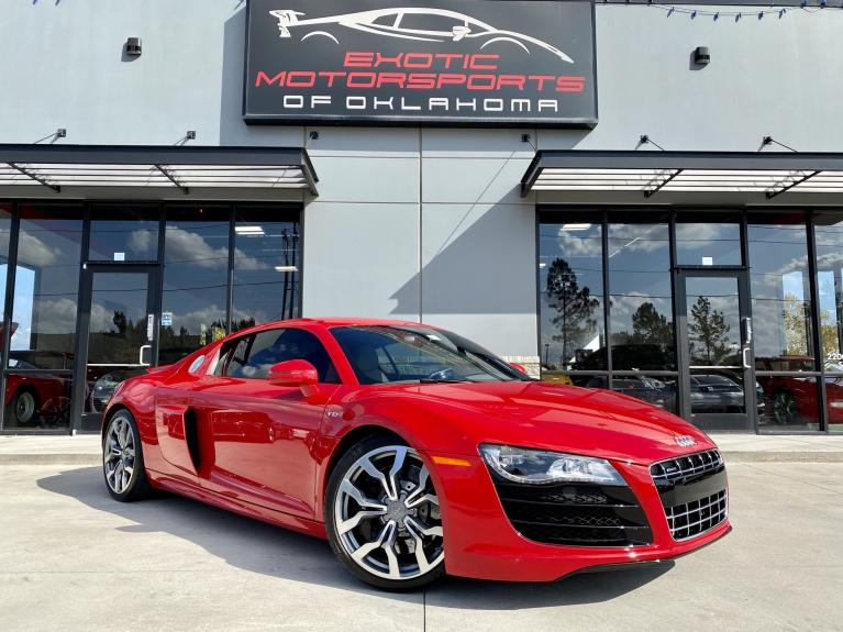 Used 2012 Audi R8 5.2 for sale $141,995 at Exotic Motorsports of Oklahoma in Edmond OK