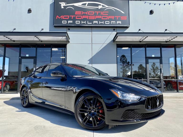 Used 2017 Maserati Ghibli S Q4 for sale $40,495 at Exotic Motorsports of Oklahoma in Edmond OK