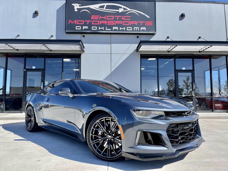 Used 2019 Chevrolet Camaro ZL1 for sale $55,750 at Exotic Motorsports of Oklahoma in Edmond OK