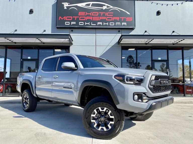 Used 2019 Toyota Tacoma TRD Offroad for sale $36,995 at Exotic Motorsports of Oklahoma in Edmond OK