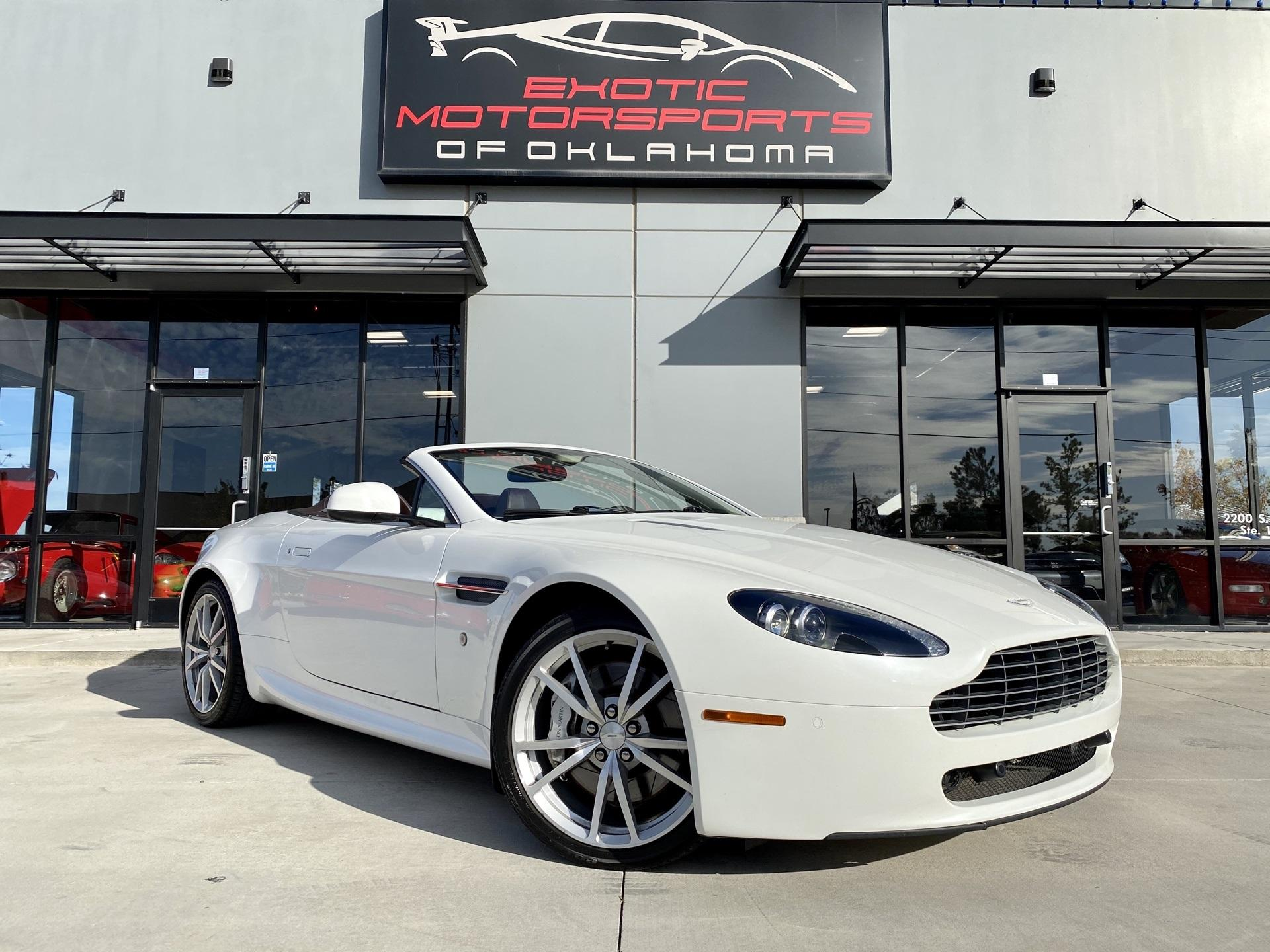Used 2010 Aston Martin V8 Vantage Base For Sale Sold Exotic Motorsports Of Oklahoma Stock P139