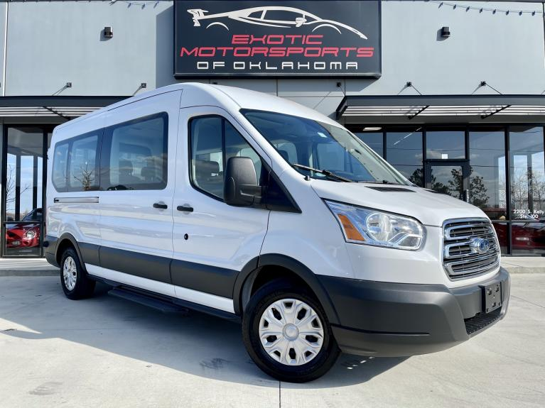 Used 2016 Ford Transit-350 XLT for sale $25,995 at Exotic Motorsports of Oklahoma in Edmond OK