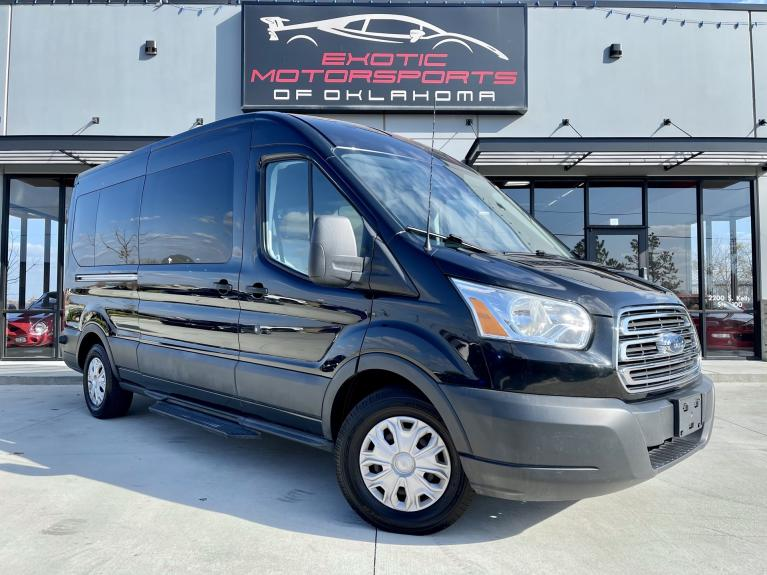 Used 2015 Ford Transit-350 XLT for sale $18,995 at Exotic Motorsports of Oklahoma in Edmond OK