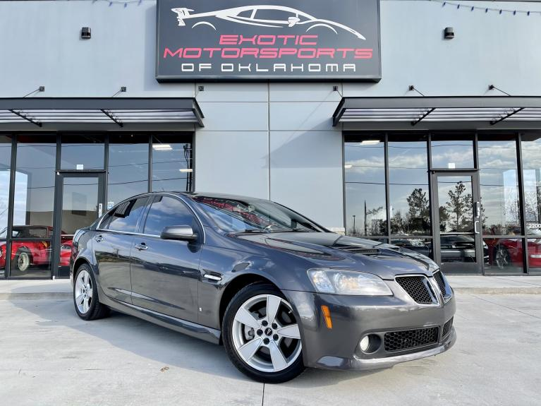 Used 2009 Pontiac G8 GT for sale $17,495 at Exotic Motorsports of Oklahoma in Edmond OK