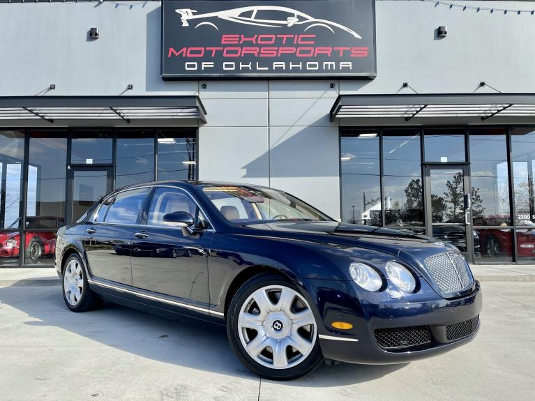 Used 2006 Bentley Continental Flying Spur Base for sale $39,995 at Exotic Motorsports of Oklahoma in Edmond OK