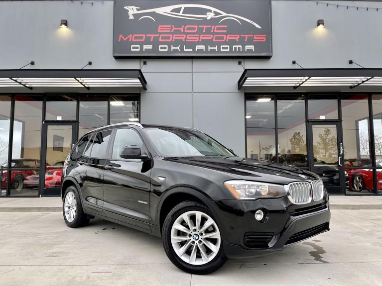 Used 2017 BMW X3 sDrive28i for sale $19,995 at Exotic Motorsports of Oklahoma in Edmond OK