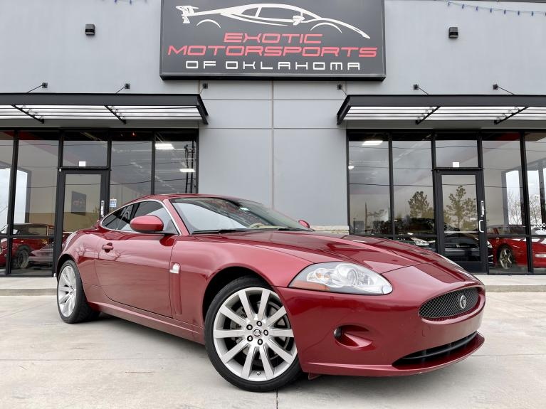 Used 2008 Jaguar XK Base for sale $16,995 at Exotic Motorsports of Oklahoma in Edmond OK