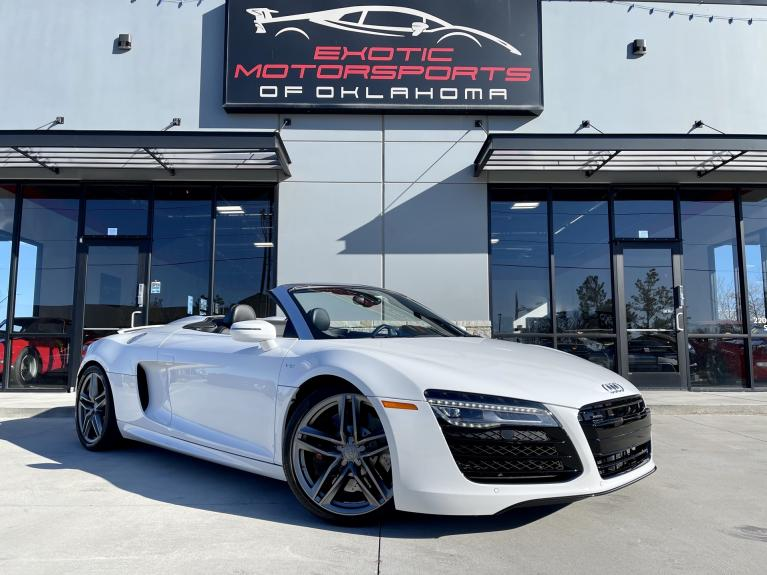 Used 2015 Audi R8 5.2 for sale $109,995 at Exotic Motorsports of Oklahoma in Edmond OK