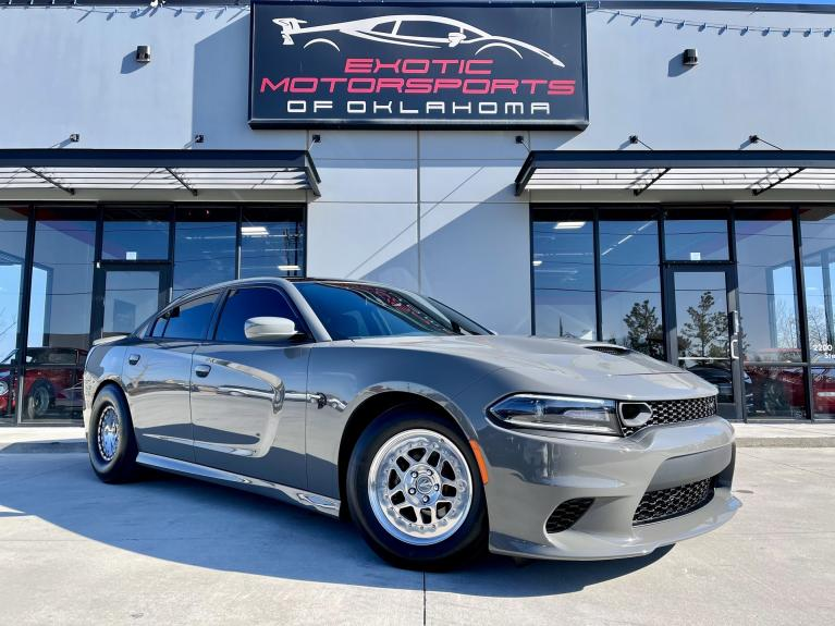 Used 2018 Dodge Charger SRT Hellcat for sale $64,995 at Exotic Motorsports of Oklahoma in Edmond OK