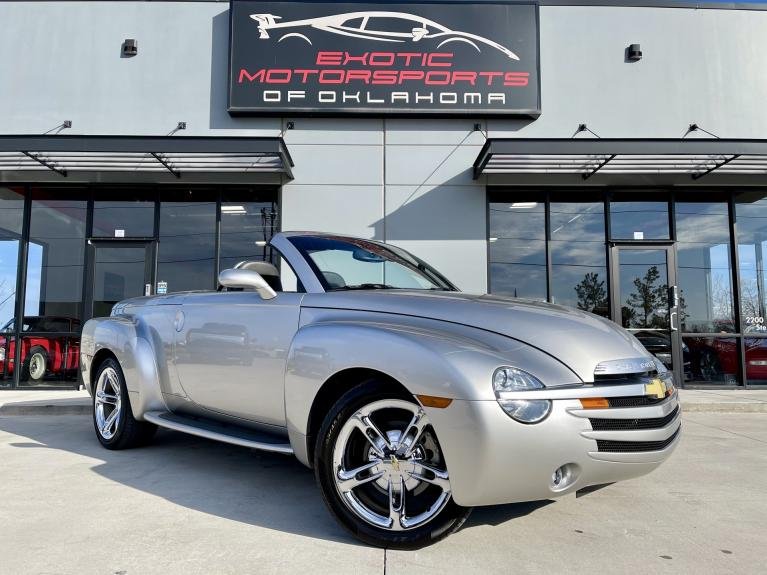 Used 2005 Chevrolet SSR Base for sale $28,495 at Exotic Motorsports of Oklahoma in Edmond OK