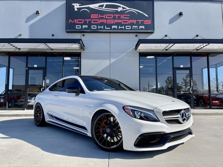 Used 2017 Mercedes-Benz C-Class C 63 S AMG® for sale $54,995 at Exotic Motorsports of Oklahoma in Edmond OK