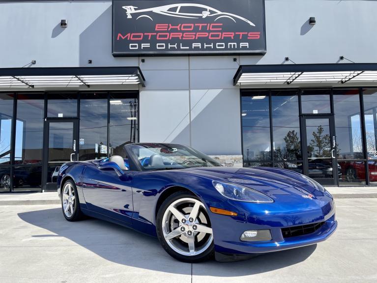 Used 2005 Chevrolet Corvette Base for sale $28,995 at Exotic Motorsports of Oklahoma in Edmond OK