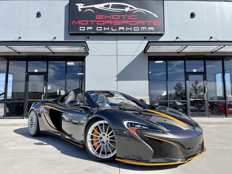 Used 2016 McLaren 650S for sale $158,995 at Exotic Motorsports of Oklahoma in Edmond OK