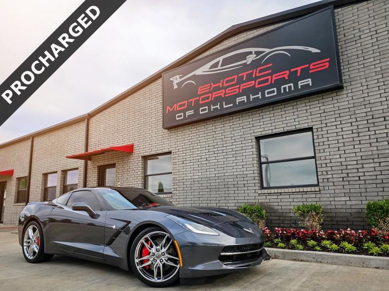 Used 2014 Chevrolet Corvette Stingray Z51 for sale $51,995 at Exotic Motorsports of Oklahoma in Edmond OK