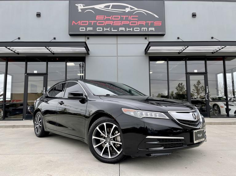Used 2015 Acura TLX 3.5L V6 for sale $19,995 at Exotic Motorsports of Oklahoma in Edmond OK