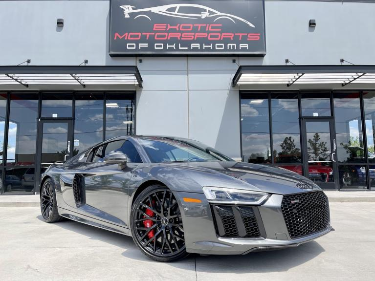 Used 2018 Audi R8 5.2 Plus for sale $167,995 at Exotic Motorsports of Oklahoma in Edmond OK