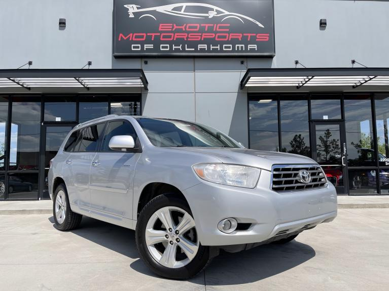 Used 2010 Toyota Highlander Limited for sale $13,995 at Exotic Motorsports of Oklahoma in Edmond OK
