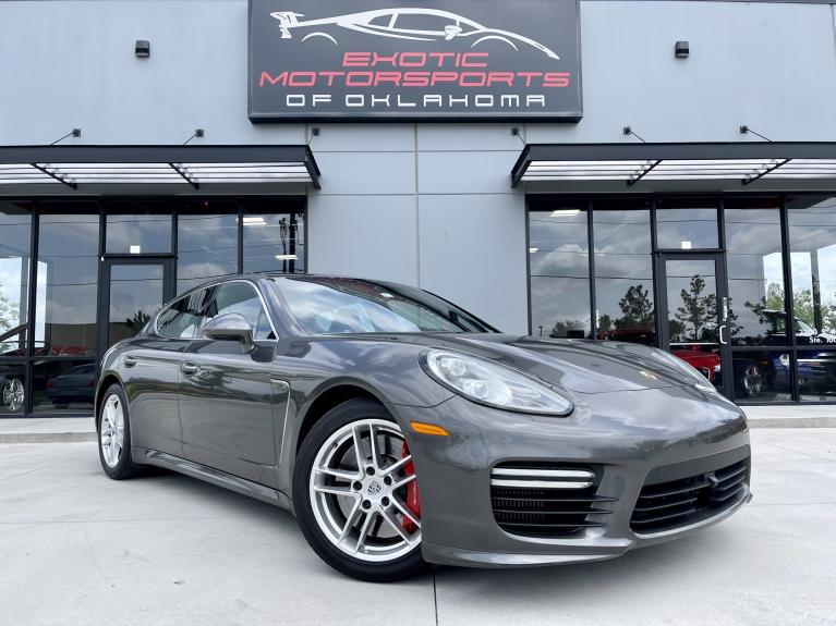 Used 2014 Porsche Panamera Turbo for sale $62,995 at Exotic Motorsports of Oklahoma in Edmond OK