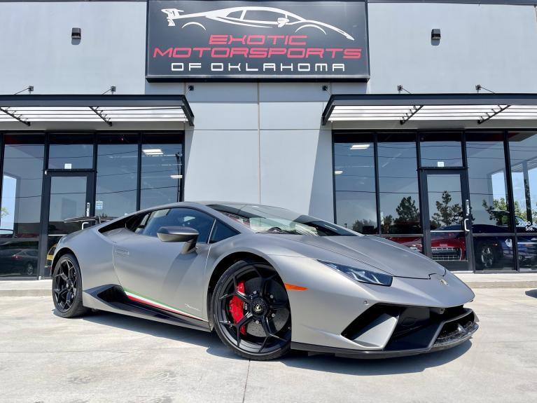 Used 2018 Lamborghini Huracan Performante for sale $329,995 at Exotic Motorsports of Oklahoma in Edmond OK