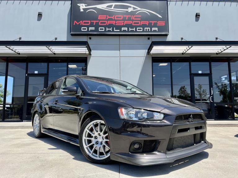 Used 2015 Mitsubishi Lancer Evolution GSR for sale $33,495 at Exotic Motorsports of Oklahoma in Edmond OK