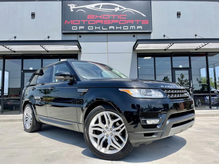 Used 2015 Land Rover Range Rover Sport 3.0L V6 Supercharged HSE for sale $36,495 at Exotic Motorsports of Oklahoma in Edmond OK