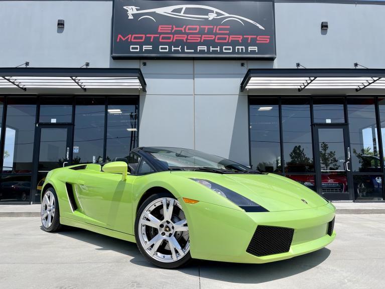 Used 2006 Lamborghini Gallardo Spyder for sale $119,995 at Exotic Motorsports of Oklahoma in Edmond OK