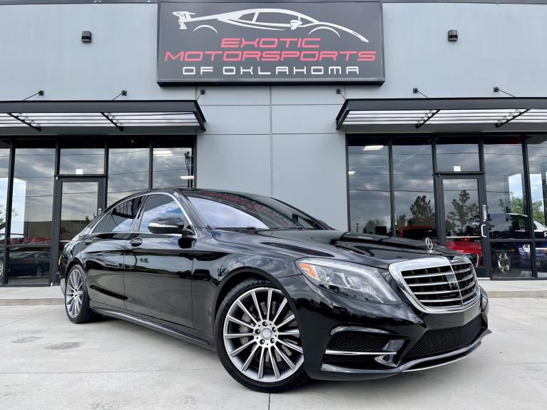Used 2015 Mercedes-Benz S-Class S 550 for sale $52,995 at Exotic Motorsports of Oklahoma in Edmond OK