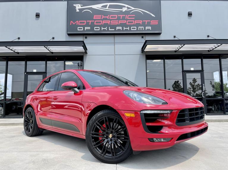Used 2017 Porsche Macan GTS for sale $52,995 at Exotic Motorsports of Oklahoma in Edmond OK