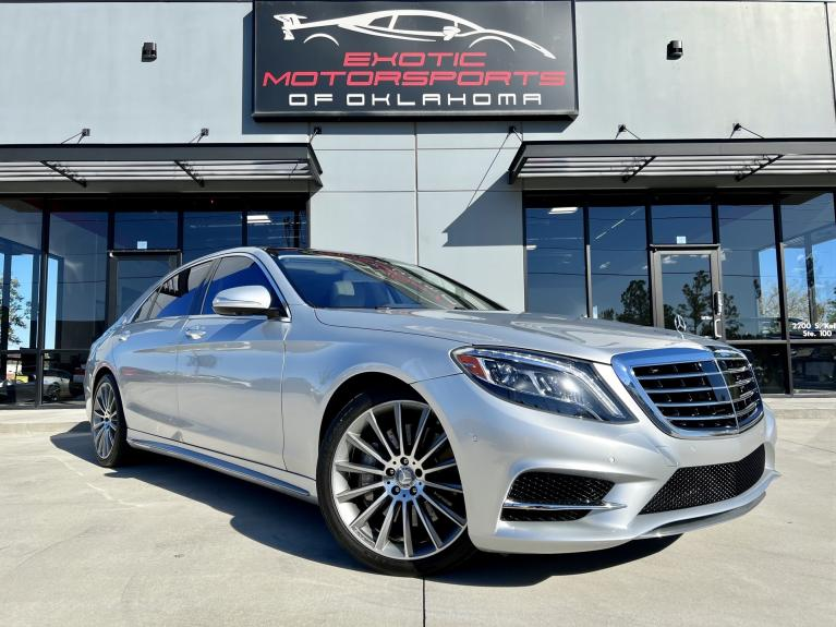 Used 2016 Mercedes-Benz S-Class S 550 for sale $49,995 at Exotic Motorsports of Oklahoma in Edmond OK