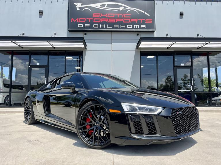 Used 2018 Audi R8 5.2 for sale $159,995 at Exotic Motorsports of Oklahoma in Edmond OK