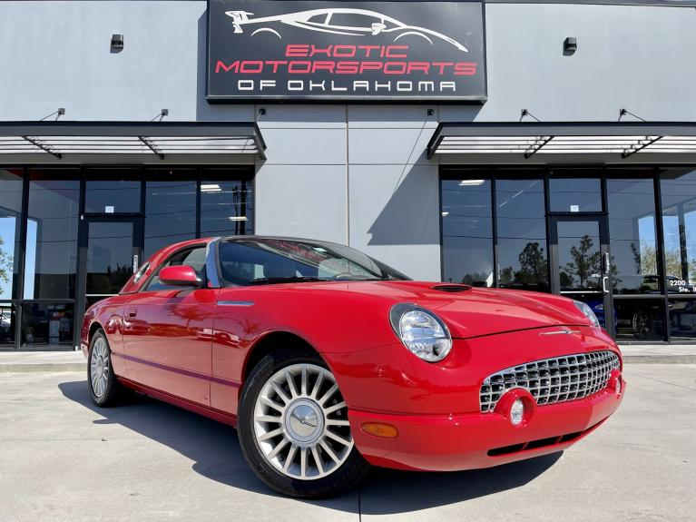 Used 2005 Ford Thunderbird 50th Anniversary Edition for sale $11,995 at Exotic Motorsports of Oklahoma in Edmond OK