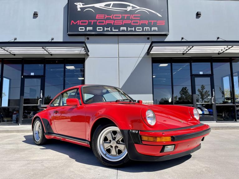 Used 1986 Porsche 911 Turbo for sale $159,995 at Exotic Motorsports of Oklahoma in Edmond OK