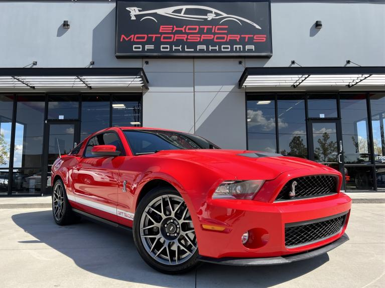 Used 2011 Ford Mustang Shelby GT500 for sale Call for price at Exotic Motorsports of Oklahoma in Edmond OK