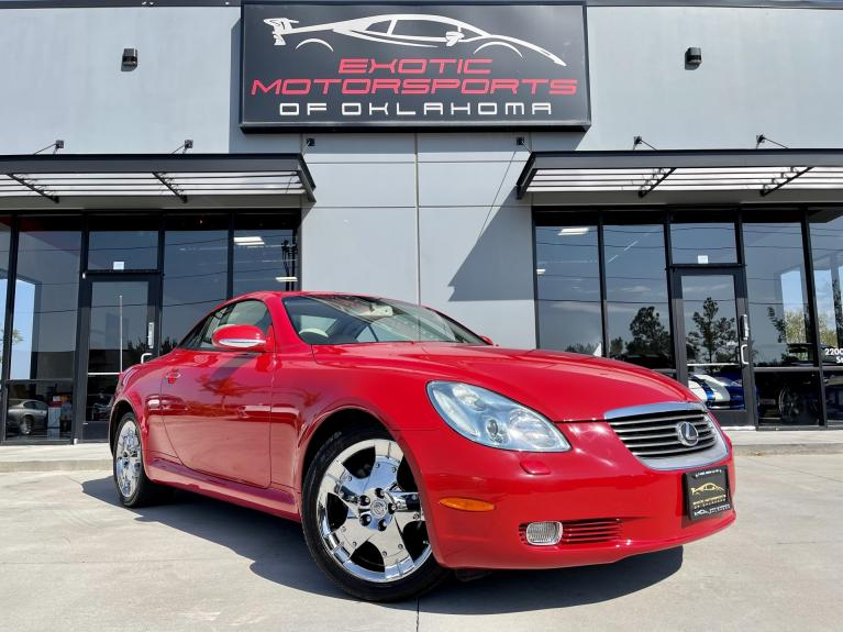 Used 2005 Lexus SC 430 for sale $22,495 at Exotic Motorsports of Oklahoma in Edmond OK