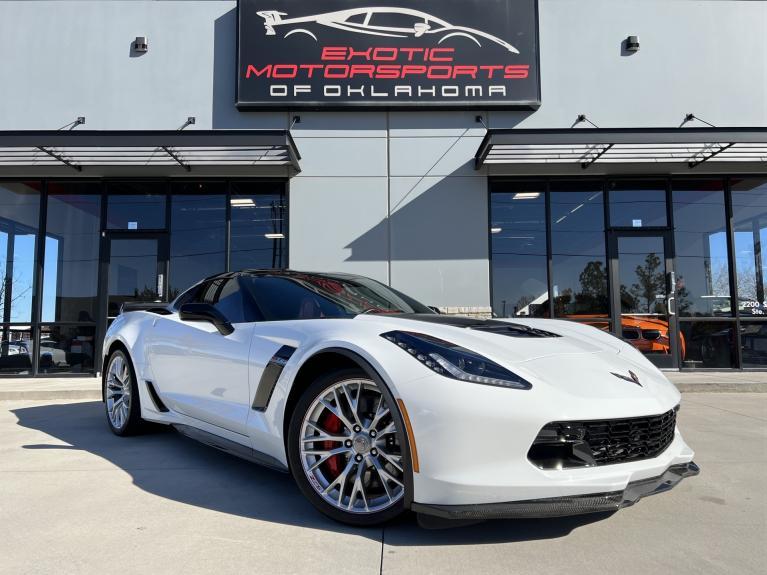 Used 2018 Chevrolet Corvette Z06 for sale Call for price at Exotic Motorsports of Oklahoma in Edmond OK