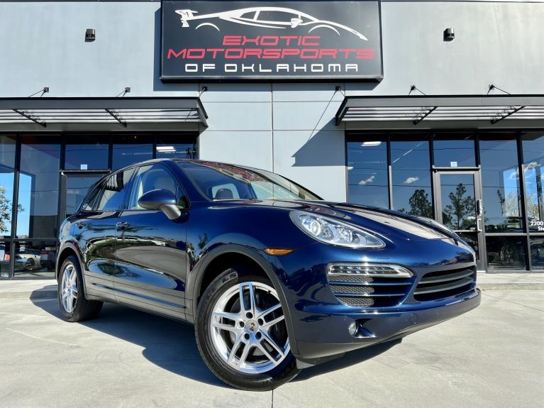 Used 2012 Porsche Cayenne for sale $23,995 at Exotic Motorsports of Oklahoma in Edmond OK