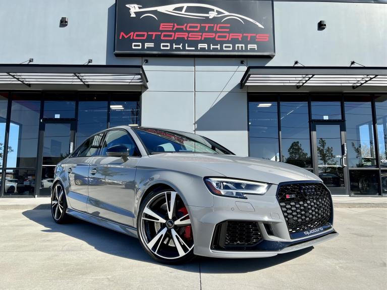 Used 2020 Audi RS 3 2.5T for sale $64,995 at Exotic Motorsports of Oklahoma in Edmond OK